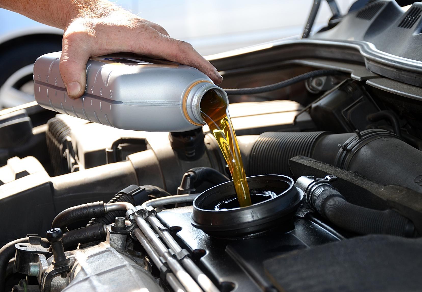 Выбор масла для двигателя