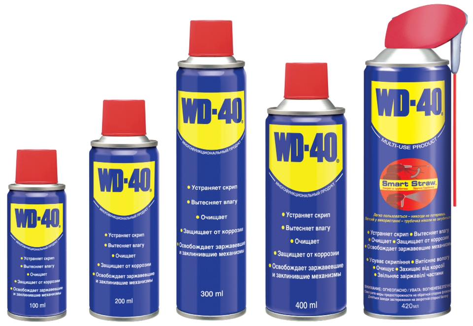Универсальная смазка/спрей WD-40