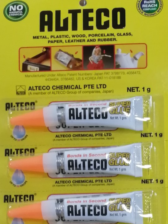 ALTECO суперклей (1 гр)